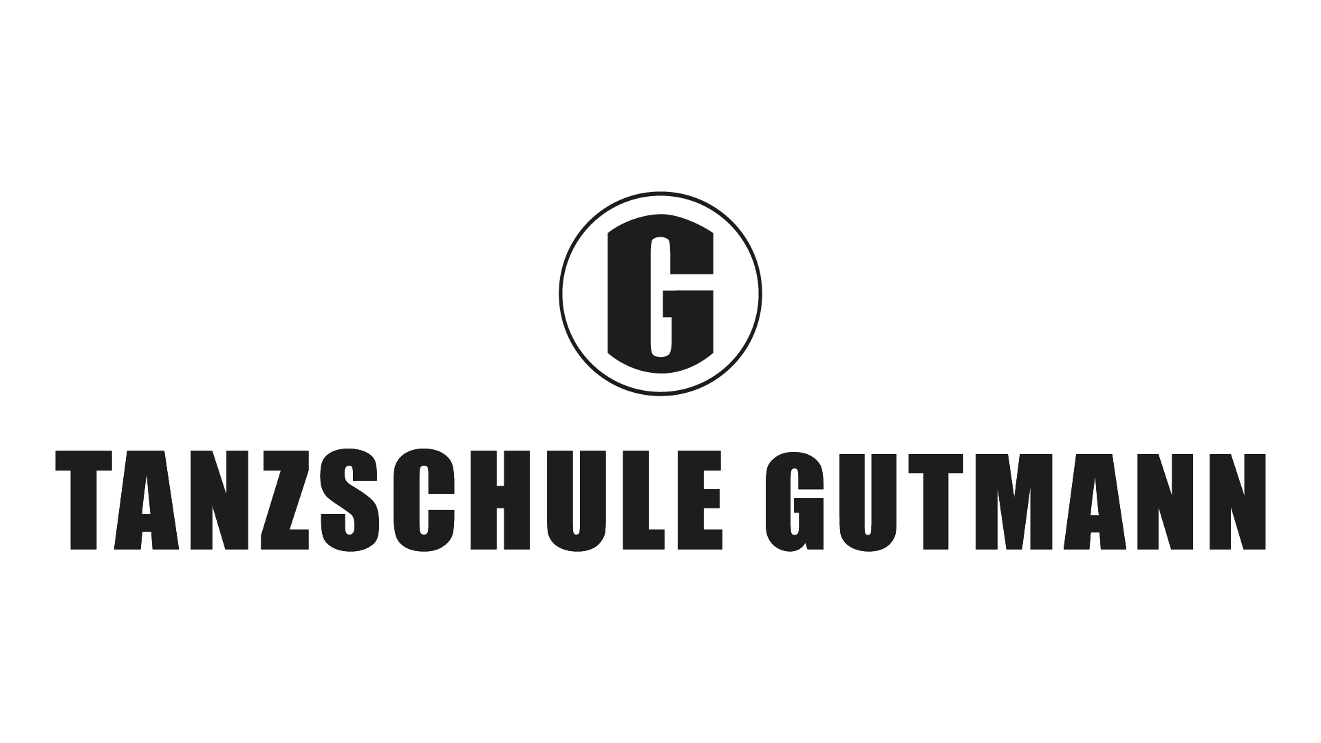 Tanzschule Gutmann Logo Schwarz 01